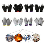 Palm Coated Protective Safety Work Gloves Garden Grip Builders