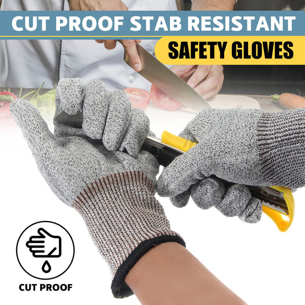 Safety Cut Proof Stab Resistant Stainless Steel Wire Metal Gloves