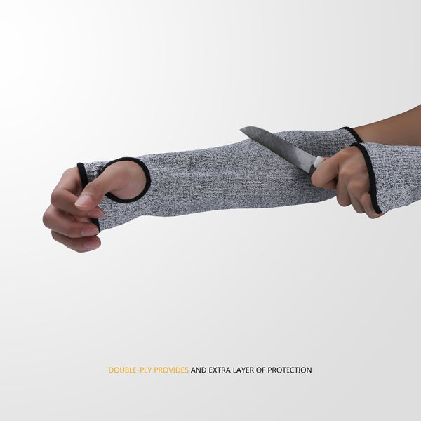 Arm Sleeve Anti Cut Puncture Proof Guard Safety Gloves