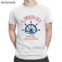 Marine A Skillfull Sailor Quote Logo Symbol Draw T Shirt