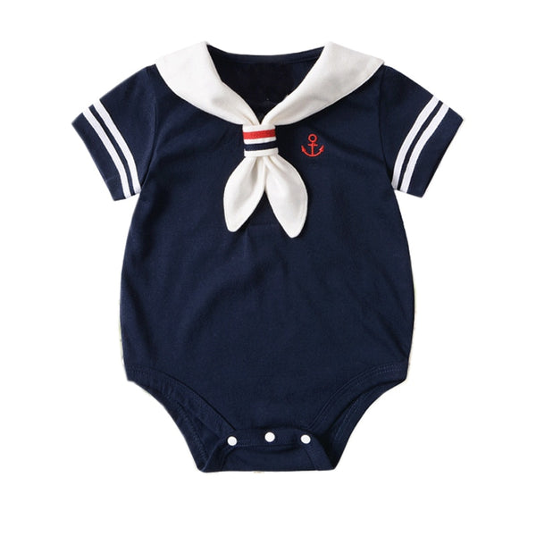 2019 Summer Baby navy sailor Short