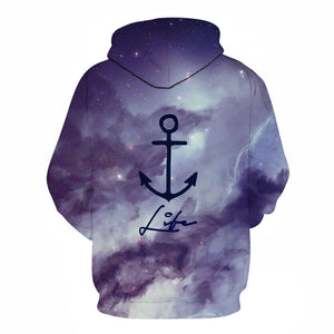 Ship's Anchor SeaMan SeaWomen 3D Sweatshirt