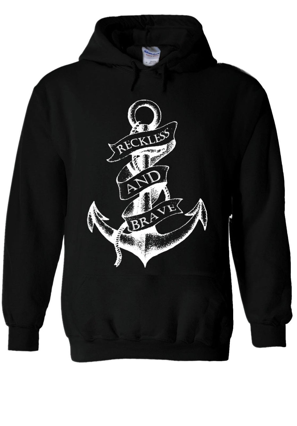 Sailor Anchor Reckless And Brave Sweatshirt Seaman