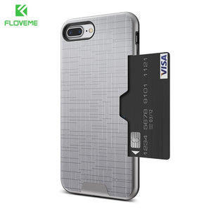 Iphone X FLOVEME card slot case