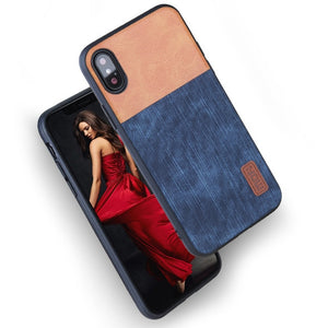 Iphone X Mofi Luxury leather case