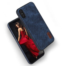 Load image into Gallery viewer, Iphone X Mofi Luxury leather case