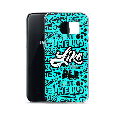 "Samsung Case ""Like"" Greetings"