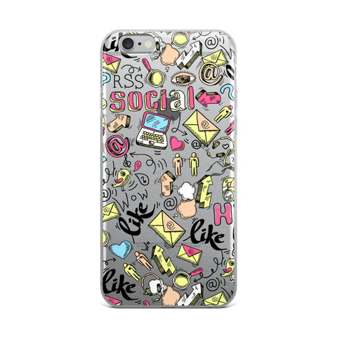 "iPhone Case ""Like"" Doodle"