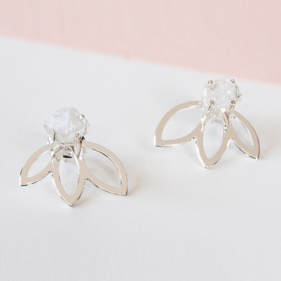 Ray Earrings kit - Silver