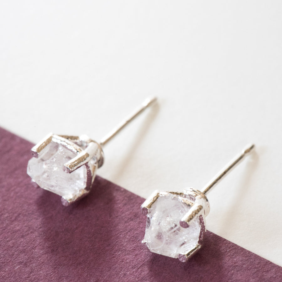 Crystal Earrings Kit - Silver