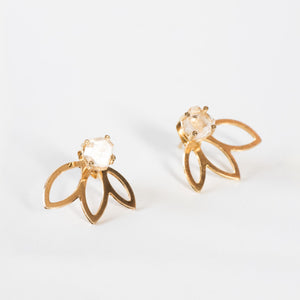 Ray Earrings kit - Gold