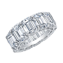 Load image into Gallery viewer, Emerald Cut Eternity Band, Wedding Bands,  - [Wachler]