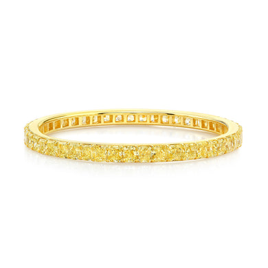 Fancy Yellow Cushion Cut Diamond Bracelet, Bracelet,  - [Wachler]
