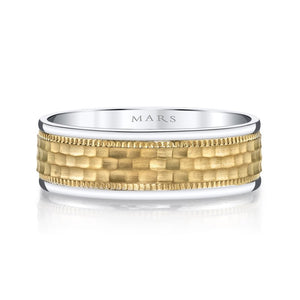 Golden Blossoms G132, Men's Wedding Band,  - [Wachler]