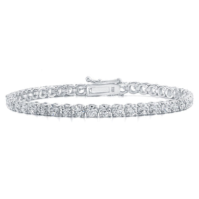 Round Brilliant Cut Diamond Bracelet, Bracelet,  - [Wachler]