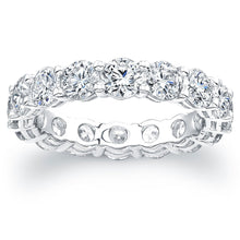 Load image into Gallery viewer, Round Brilliant Diamond Eternity Band