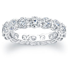 Load image into Gallery viewer, Round Brilliant Diamond Eternity Band, Wedding Bands,  - [Wachler]
