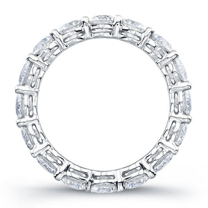 Round Brilliant Diamond Eternity Band
