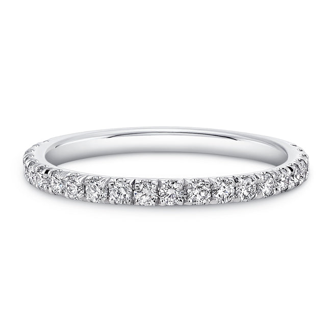 Traditional Round Diamond Eternity Band, Wedding Bands,  - [Wachler]