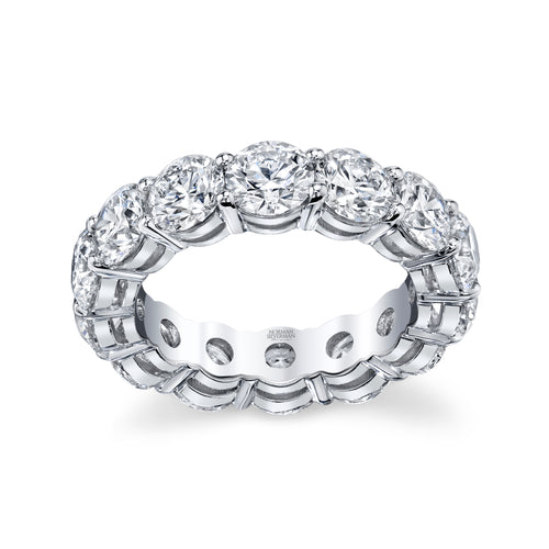 Round Diamond Eternity Band, Bridal,  - [Wachler]
