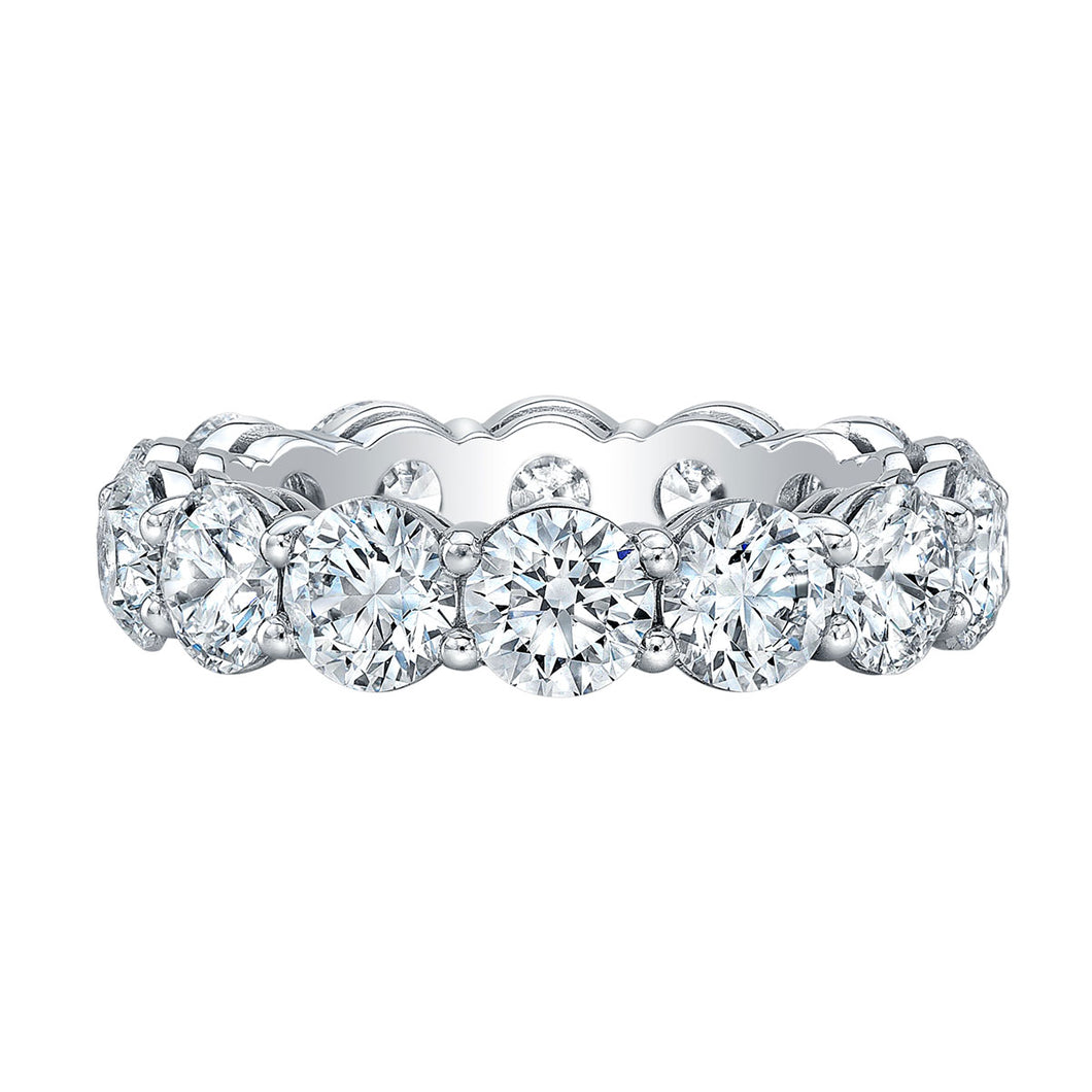 Round 5 Carat Diamond Eternity Band, Wedding Bands,  - [Wachler]