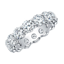 Load image into Gallery viewer, Round 5 Carat Diamond Eternity Band, Wedding Bands,  - [Wachler]