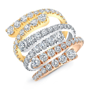 Open Style Diamond Ring, Fashion Rings,  - [Wachler]