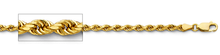 Load image into Gallery viewer, 14k Gold 2.5mm Diamond Cut Rope Chain