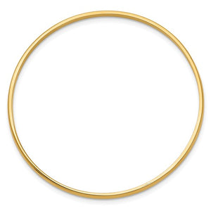 14k Gold Slip-On Children's Bangle