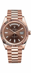 Day-Date 40 Rose Gold Men's Watch 228235
