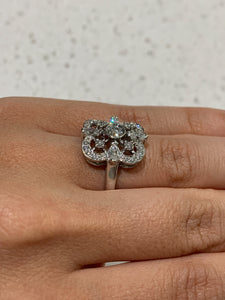 Kwiat Dinner Ring 18k White Gold