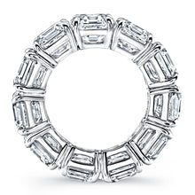 Load image into Gallery viewer, Asscher Cut Diamond Eternity Wedding Band, Wedding Bands,  - [Wachler]