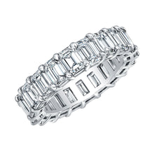 Load image into Gallery viewer, Emerald Cut Eternity Band 6.69 Carats Total, Bands for her,  - [Wachler]