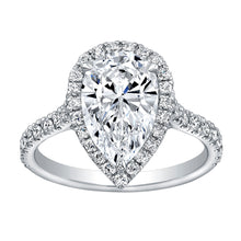 Load image into Gallery viewer, 2.5 Carat Pear Shape Diamond Engagement Ring, Engagement Ring,  - [Wachler]