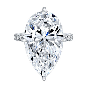 Pear Cut Diamond Engagement Ring, Engagement Ring,  - [Wachler]