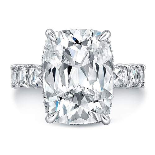 Cushion Cut Diamond Engagement Ring, Engagement Ring,  - [Wachler]