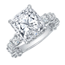 Load image into Gallery viewer, Cushion Cut Diamond Engagement Ring, Engagement Ring,  - [Wachler]