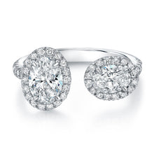 Load image into Gallery viewer, Unique Oval Diamond Fashion Ring, Fashion Rings,  - [Wachler]