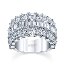 Load image into Gallery viewer, Multi Cut Diamond Wedding Ring, Bridal,  - [Wachler]