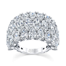 Load image into Gallery viewer, Pear Shaped Diamond Wedding Ring, Bridal,  - [Wachler]