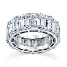 Load image into Gallery viewer, Emerald Cut Eternity Ring, Bridal,  - [Wachler]