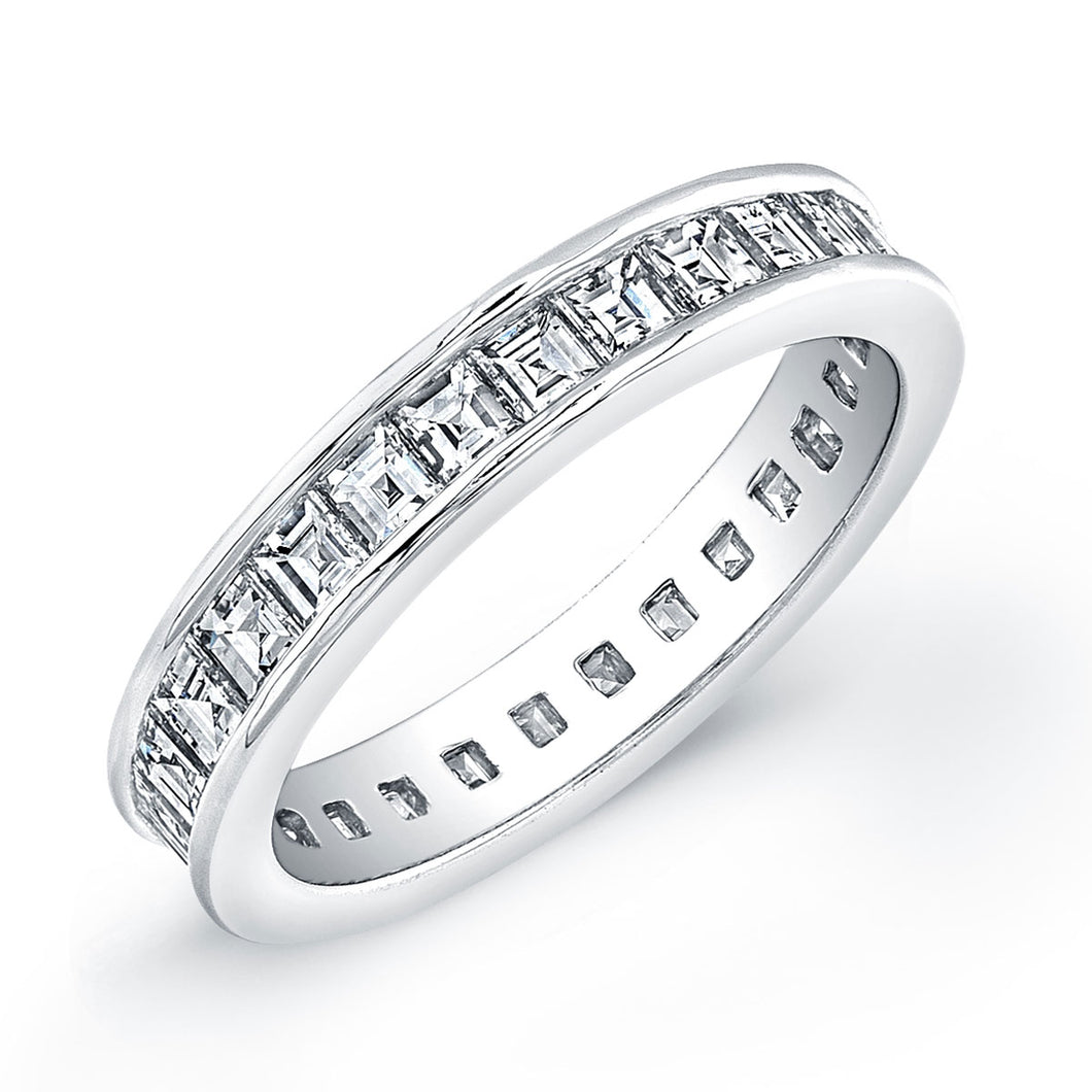 Baguette Diamond Eternity Band, Wedding Bands,  - [Wachler]