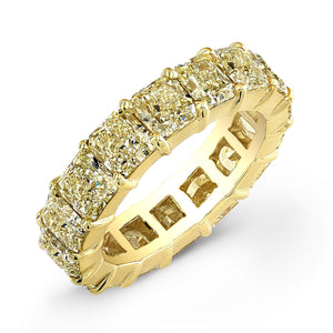 Yellow Diamond Eternity Wedding Band, Wedding Bands,  - [Wachler]