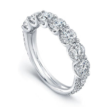 Load image into Gallery viewer, Classic Seven Diamond Wedding Band, Wedding Bands,  - [Wachler]