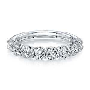 18k White Gold Wedding Band, Wedding Bands,  - [Wachler]