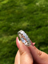 Load image into Gallery viewer, Dual Diamond Eternity Band