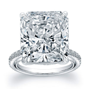 Radiant Cut Diamond Engagement Ring, Engagement Ring,  - [Wachler]