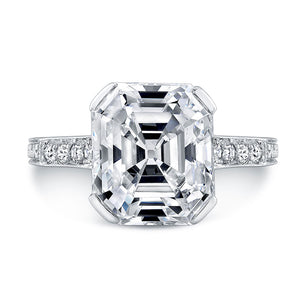 Asscher Cut Diamond Engagement Ring, Engagement Ring,  - [Wachler]