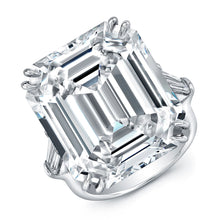Load image into Gallery viewer, Emerald Cut Diamond Engagement Ring, Engagement Ring,  - [Wachler]