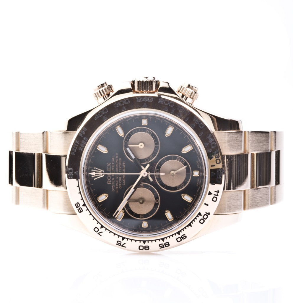 Rolex Daytona Rose Gold 115246 Box & Card, Watch,  - [Wachler]
